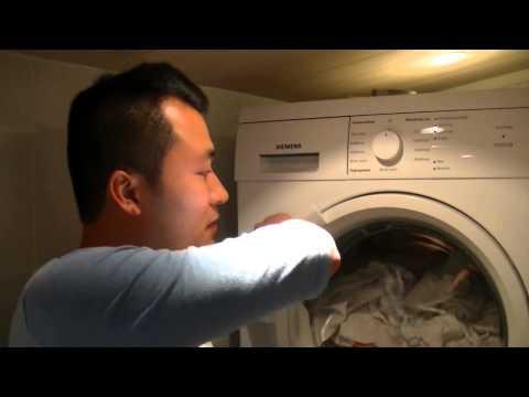 Mẹo giặt và sấy quần áo