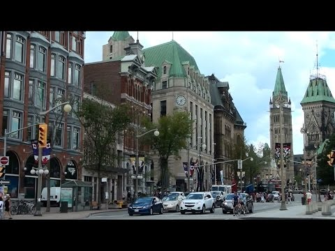 Ottawa, Ontario - Downtown And The Rideau Canal