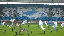 Hoffenheim-Stuttgart / 08.05.2010  Choreo Bitburger Südkurve