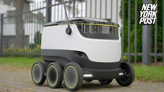 The next job to be stolen by robots: deliverymen