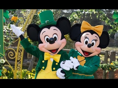 4k st patrick s day irish preparade disneyland paris 2015 - Disney st patricks day images ...