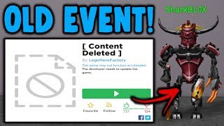 This forgotten roblox event is still open? & it works!?