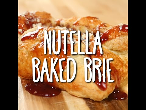 Nutella Baked Brie