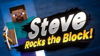Minecraft Steve Is In Smash Bros! Kinda Funny Live Reactions