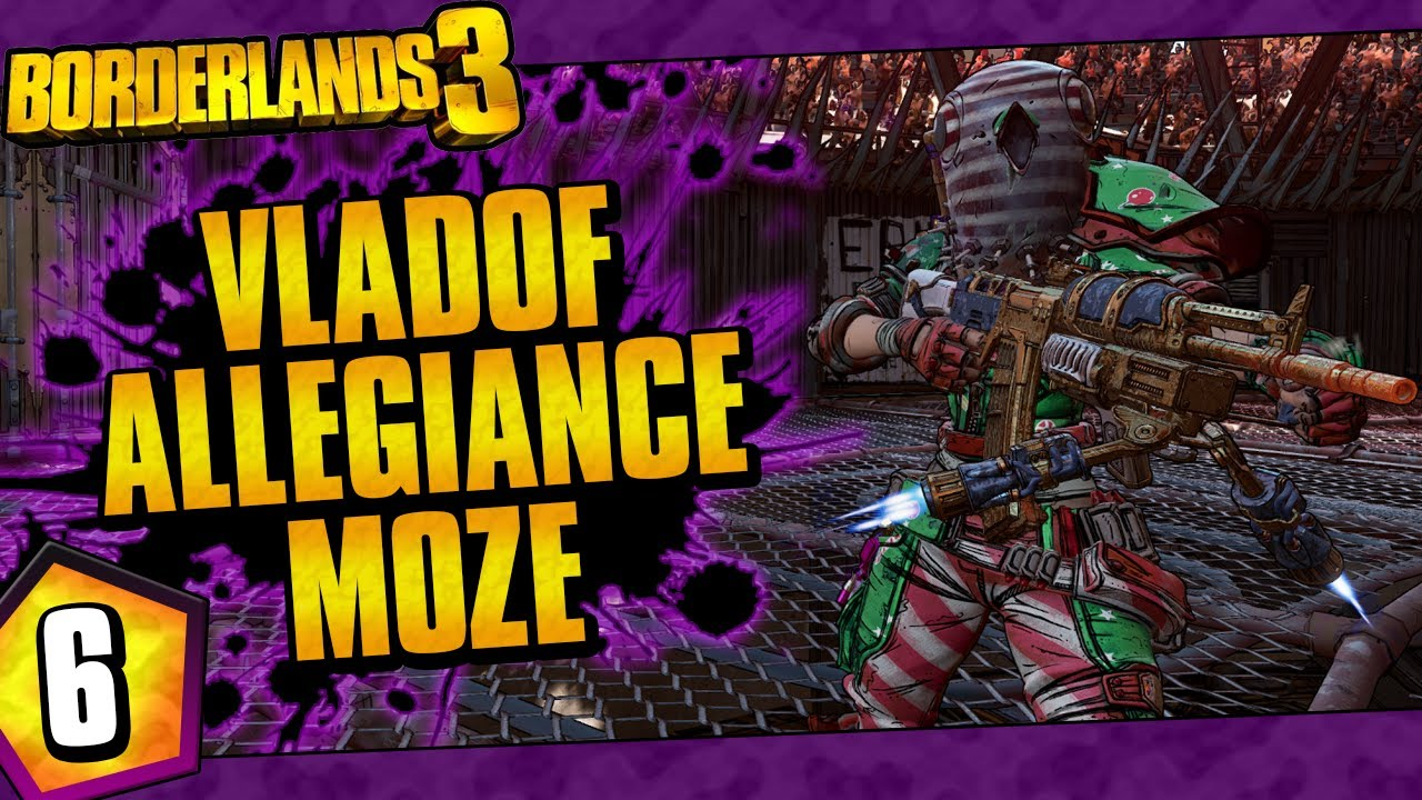 Borderlands 3 | Vladof Allegiance Moze Funny Moments And Drops | Day #6 thumbnail