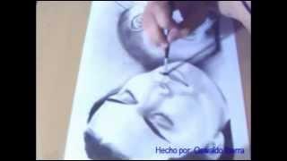 Dibujando una madre con su hijo