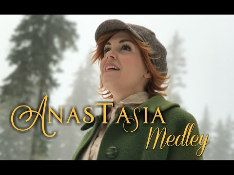 Anastasia in REAL LIFE  Once Upon a December & Journey to the Past  Evynne Hollens