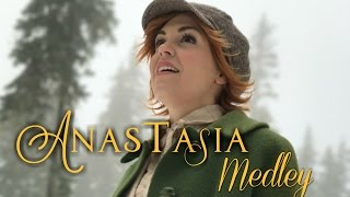 Repeat youtube video Anastasia in REAL LIFE - Once Upon a December & Journey to the Past - Evynne Hollens