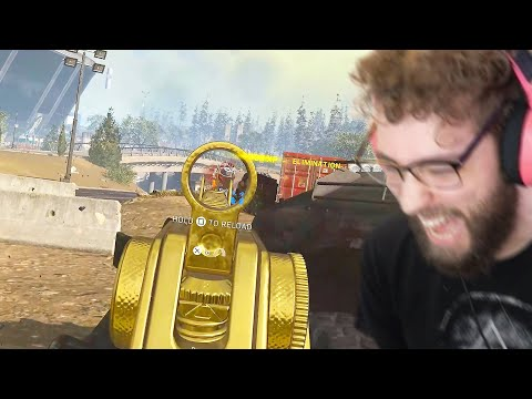 I played WARZONE with a BUGGED LOADOUT and it didn't disappoint - FaZe Jev