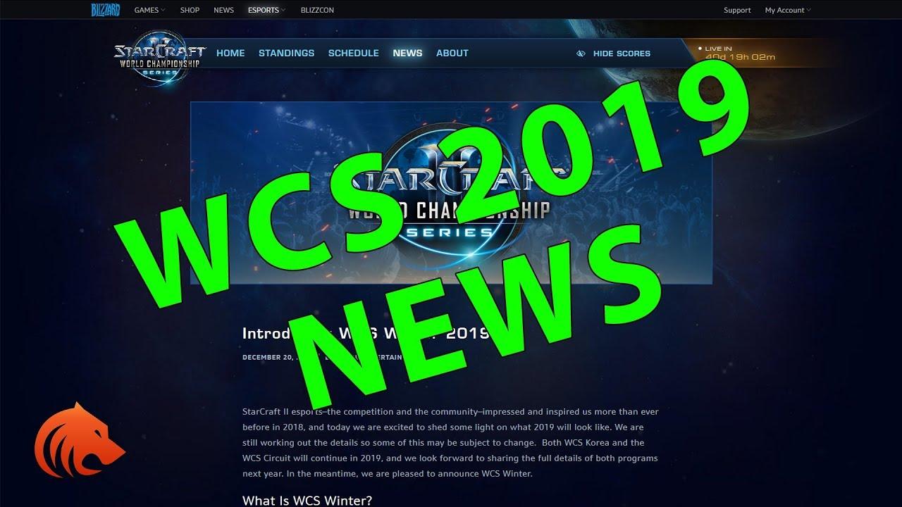 wcs starcraft 2019