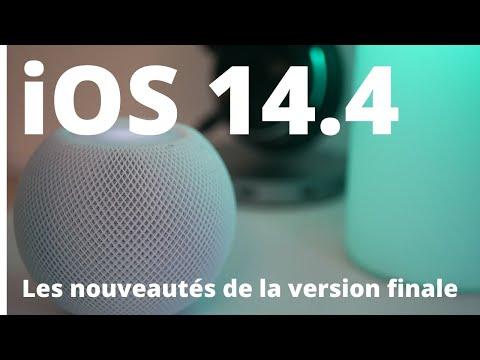iOS 14.4 version