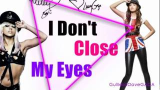 lady gaga i don t close my eyes ft miley cyrus audio hd vevo new song 2012