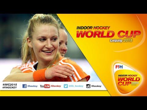 Netherlands vs Ukraine - Full Match Women's Indoor Hockey World Cup 2015 Germany Quarter-Final