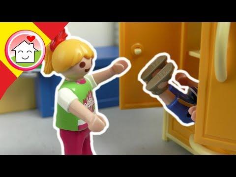 Playmobil en español El nuevo en clase  - La familia Hauser