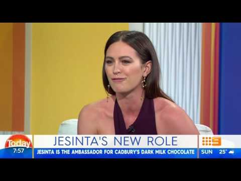 Jesinta Campbell on her Dairy Milk chocolate sponsorship  'Nothing wrong with a treat'