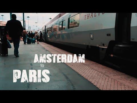 Paris to Amsterdam by Train - THALYS 🚇