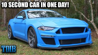 "homepage tile video photo for 2019 Mustang GT ""LOKI"" Review: How to Build a 10 Second Car in ONE Day!"