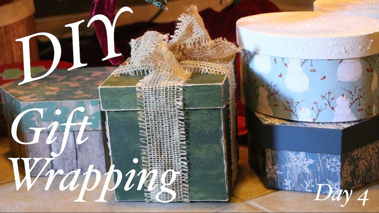 Creative christmas gift wrapping ideas - DIY - YouTube