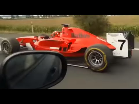 Cort Webber - Guy drives Formula 1 car on the freeway in Czech Republic