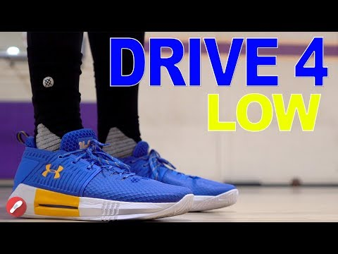 Under Armour Drive 4 Low Performance Review!