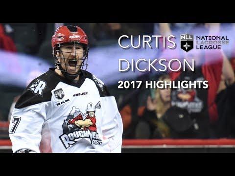 Curtis Dickson 2017 NLL Highlights