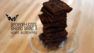 Gluten Free Recipe: How To Make Vegan Banana-lentil Bread Bars