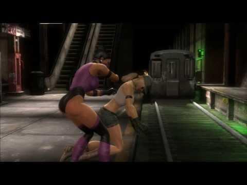 Mortal Kombat - All Mileena Fatalities (MK3 COSTUME)