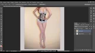 AULA PARTE 01 - Como trocar de roupa no Photoshop CS6