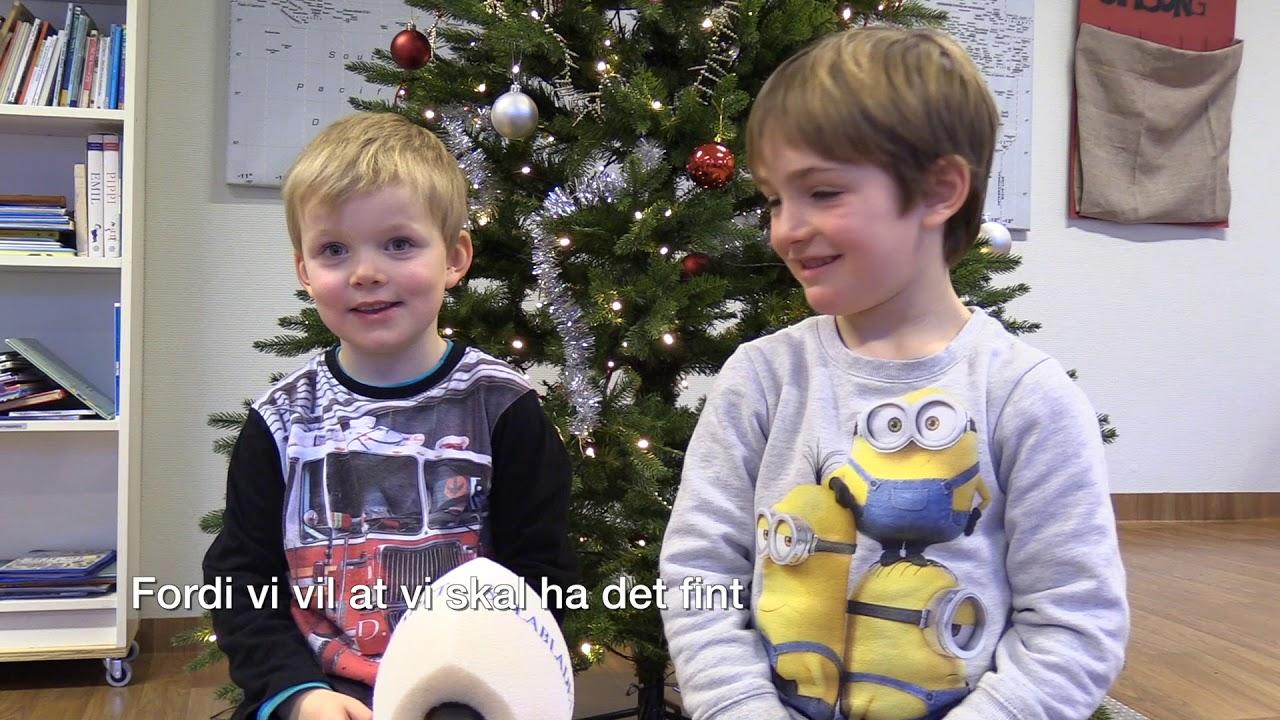 Barna forklarer julen