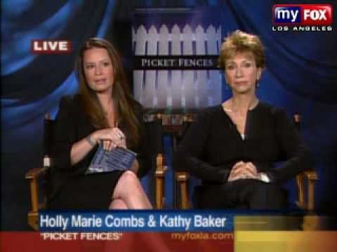 Holly Marie Combs and Kathy Baker on Good Day LA on the 19th of June, 2007