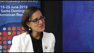 ITU INTERVIEWS @ CBS-2018: Luciana Mermet, UNDP, Dominican Republic thumbnail