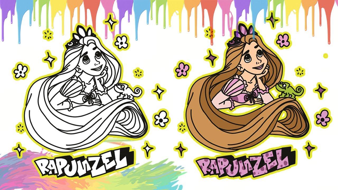 Gambar Rapunzel Disney Princess I Menggambar Dan Mewarnai Princess