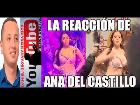 LA REACCIÓN DE ANA DEL CASTILLO
