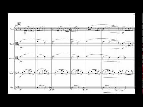METALLICA - Nothing Else Matters - Coral de Trombones - Trombone Ensemble