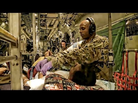 Aeromedical Evacuation Squadron • Moving Wounded Soldiers