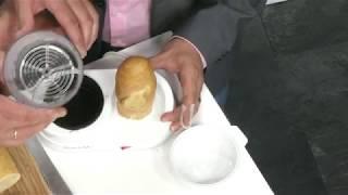 350 Watt Hotdog-Maker mit beheizbarer Stange aus rostfreiem Edelstahl