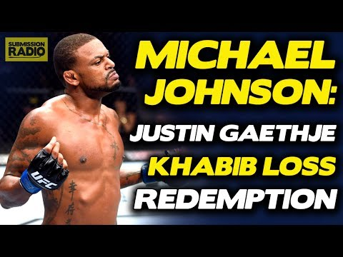 Michael Johnson on Justin Gaethje Admitting He'll Suffer KO Soon: 'Be Careful What You Wish For'
