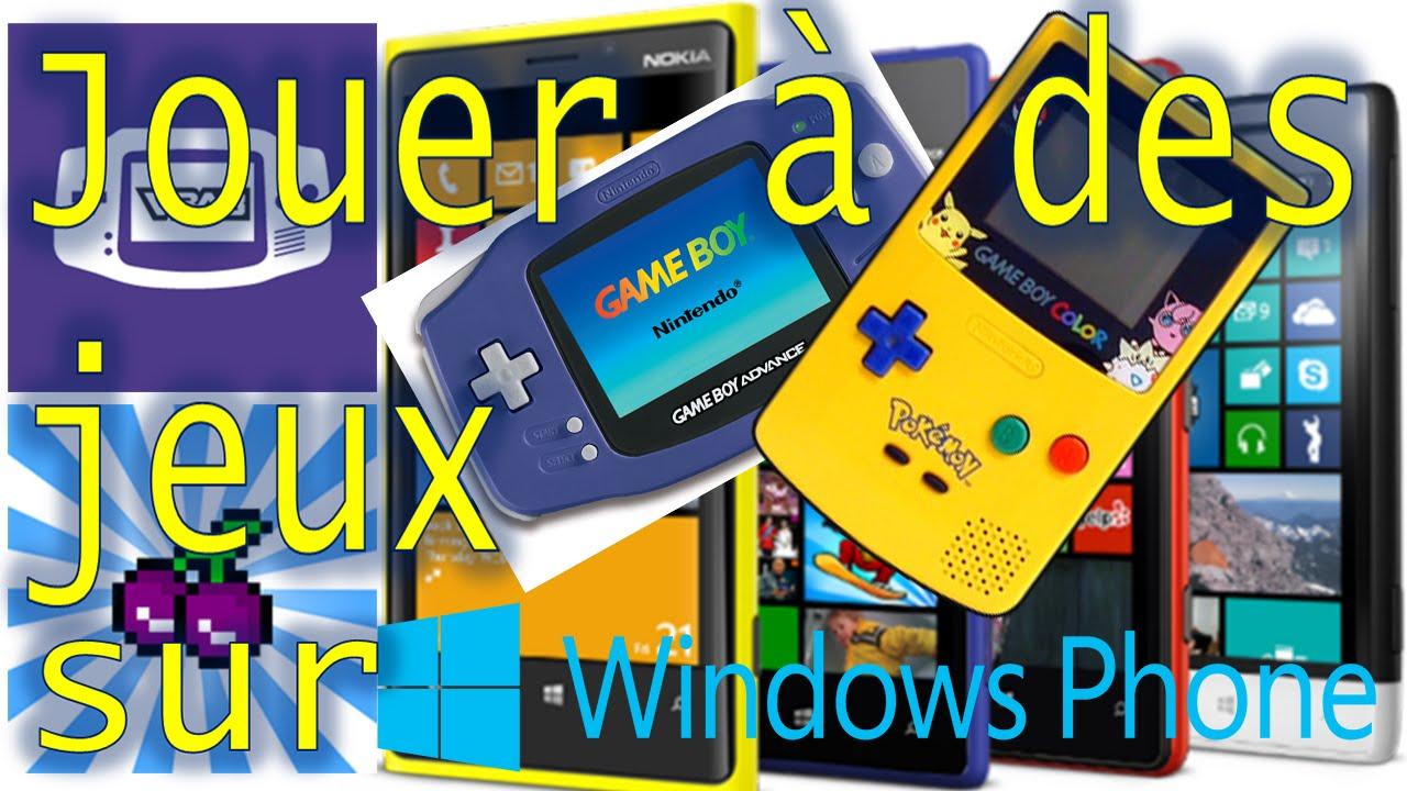 Gameboy color emulator windows phone -  10 1 Tuto Astuce Jouer A Des Jeux Gba Gbc Sur Son Windows Phone