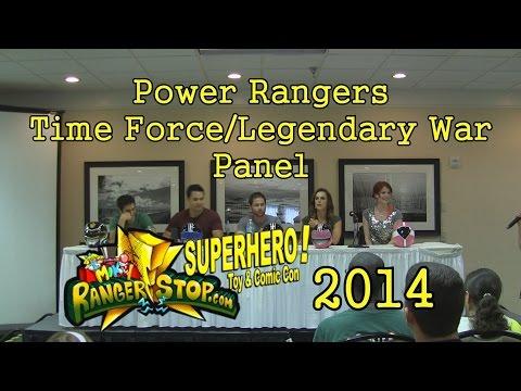 Power Rangers Time Force/Legendary War Panel - RangerStop 2014 - Jason Faunt, Azim Rizk, & More