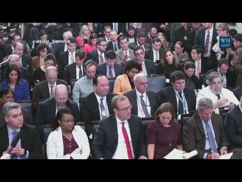 Sean Spicer HEATED Press Conferences So Far 2/12/2017 Best sean spicer press briefings