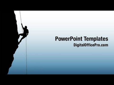 Rock climbing powerpoint template backgrounds digitalofficepro rock climbing powerpoint template backgrounds digitalofficepro 03535w toneelgroepblik Gallery