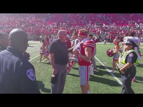 Tate Martell Greeted by Former Teammates, Head Coach Tony Sanchez