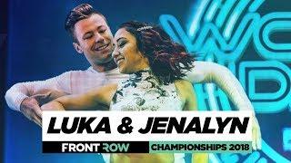 Luka & Jenalyn | FrontRow | World of Dance Championships 2018 | #WODCHAMPS18