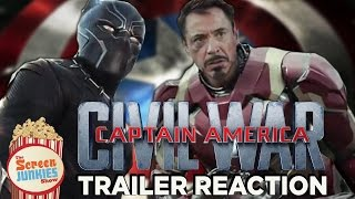 Captain America: Civil War - Trailer Reactions!