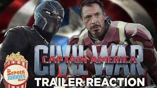 Captain America: Civil War - Trailer Reactions!