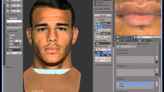 CREATE FACES FOR FIFA 15 - Obj to RX3