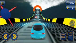 Impossible Car Stunts - Android GamePlay - Car Stunt Games Android #2