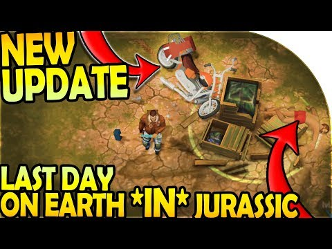 NEW UPDATE - LAST DAY ON EARTH *IN* JURASSIC SURVIVAL - Last Day on Earth Jurassic Survival Gameplay