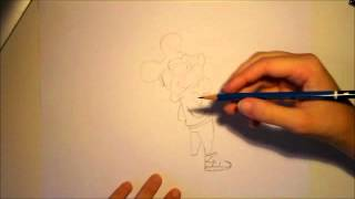 Mickey Mouse Swag Draw Tutorial
