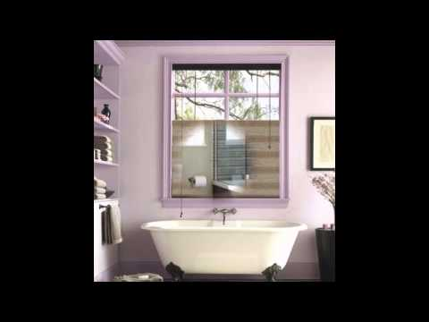 Bathroom window treatments design ideas
